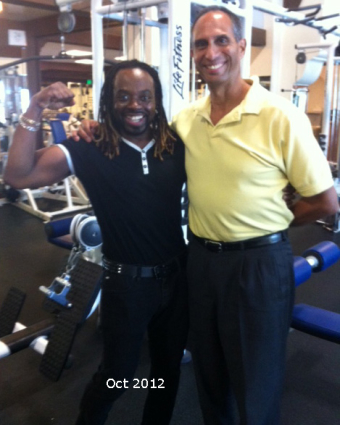 photo Rev Charles with Coach Oct 2012